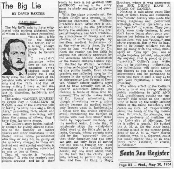 The big lie 1
